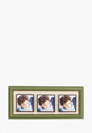 Фоторамка Русские подарки. Цвет: хаки