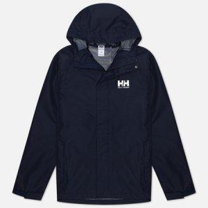 Мужская куртка ветровка Seven J Helly Hansen. Цвет: синий