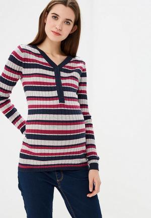 Пуловер Mamalicious. Цвет: разноцветный