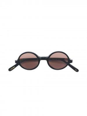 Солнцезащитные очки 345 Lesca. Цвет: черный