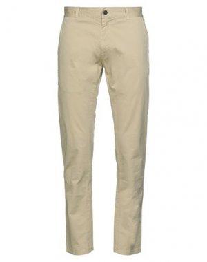 Повседневные брюки IUTER. Цвет: песочный
