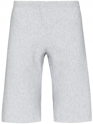 Спортивные шорты с нашивкой-логотипом Champion. Цвет: серый
