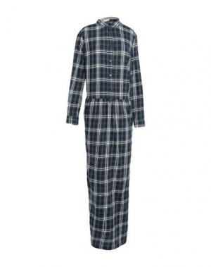 Длинное платье CAPPELLINI by PESERICO. Цвет: синий
