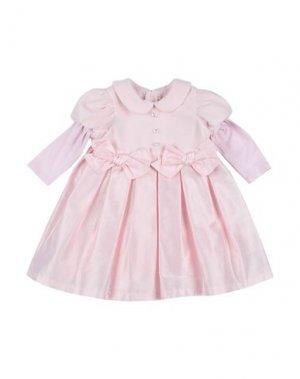 Платье LòLò. Цвет: розовый