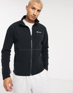Черная флисовая куртка на молнии -Черный Berghaus
