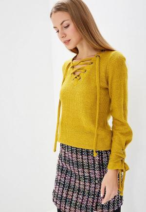 Пуловер Tantino. Цвет: желтый