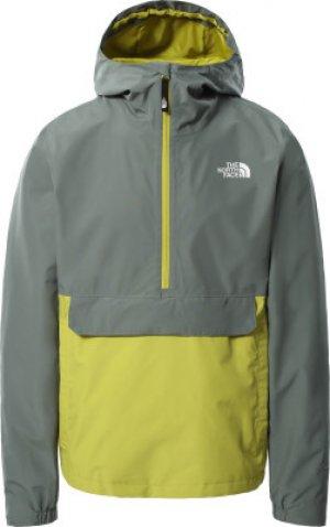 Анорак мужской Waterproof, размер 50-52 The North Face. Цвет: зеленый