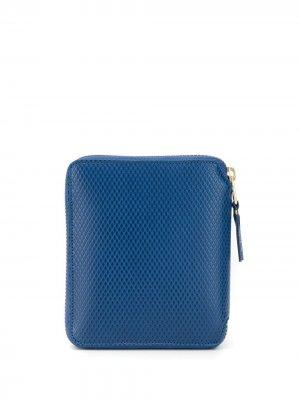 COMME DES GARÇONS HOMME PLUS SA2100LG BLUE Furs & Skins->Calf Leather Wallet. Цвет: синий