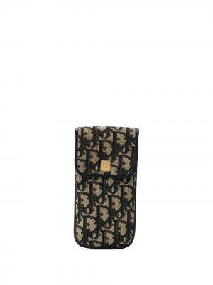 Футляр для солнцезащитных очков с узором Trotter Christian Dior. Цвет: нейтральные цвета
