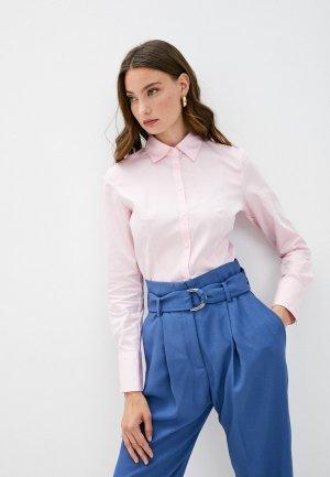 Рубашка Hugo The Fitted Shirt. Цвет: розовый