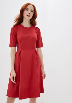 Платье Gregory. Цвет: красный