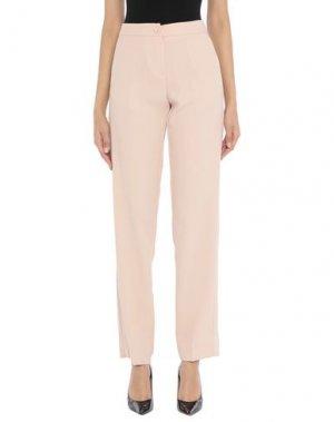 Повседневные брюки G.SEL. Цвет: розовый