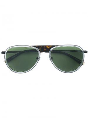 Солнцезащитные очки Montenapoleone Etnia Barcelona. Цвет: черный