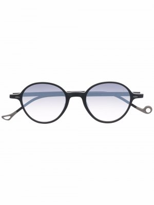 Солнцезащитные очки Sforza в круглой оправе Eyepetizer. Цвет: черный