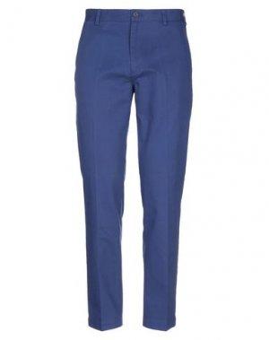 Повседневные брюки BROOKS BROTHERS. Цвет: синий
