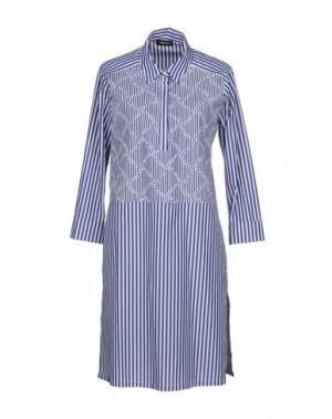 Короткое платье ANNECLAIRE. Цвет: темно-синий
