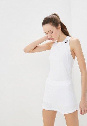 Платье ASICS CLUB DRESS. Цвет: белый