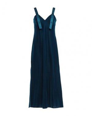 Длинное платье OFF-WHITE™. Цвет: цвет морской волны