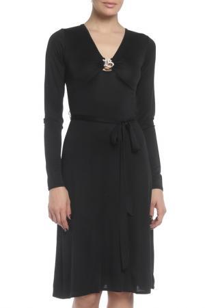 Платье Braude. Цвет: черный