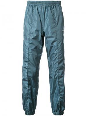 Спортивные брюки с логотипом Off-White. Цвет: синий