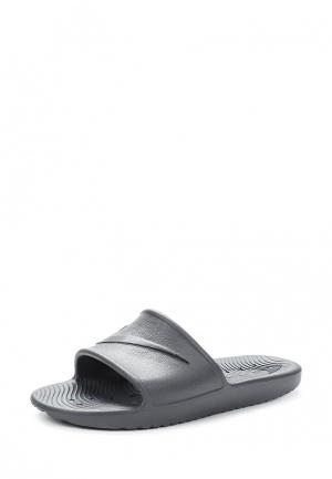 Сланцы Nike Mens Kawa Shower Slide. Цвет: серый