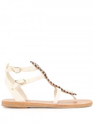 Сандалии Alexa на плоской подошве Ancient Greek Sandals. Цвет: белый
