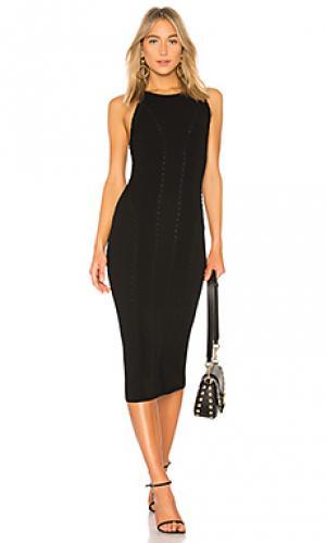 Макси платье brandy Rag & Bone. Цвет: черный