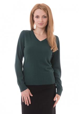 Пуловер Sempre. Цвет: зеленый