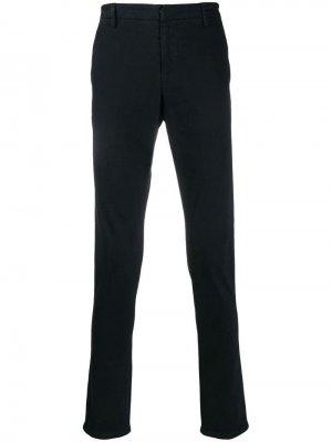 Классические брюки чинос Dondup. Цвет: синий
