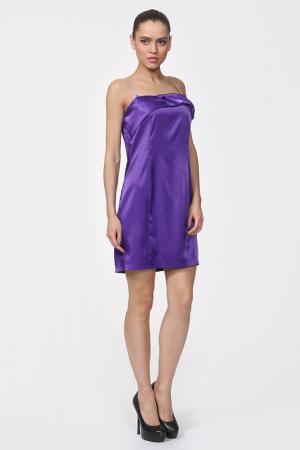 Платье Fervente. Цвет: фиолетовый