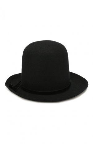 Фетровая шляпа Ann Demeulemeester. Цвет: чёрный
