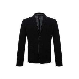 Пиджак из шерсти и льна Transit. Цвет: чёрный