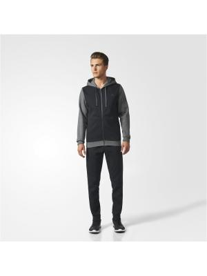 Костюм CO ENERGIZE TS  DGREYH/BLACK/BLACK Adidas. Цвет: темно-серый, черный