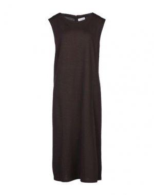 Платье длиной 3/4 TAVIANI. Цвет: какао