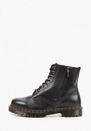Ботинки Dr. Martens 1460 Pascal Zip-8 Eye Boot. Цвет: черный