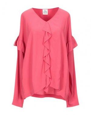 Блузка ATTIC AND BARN. Цвет: фуксия