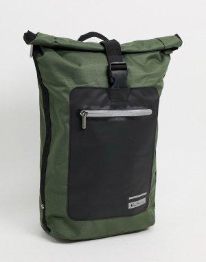 Рюкзак цвета хаки -Зеленый Ben Sherman