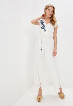 Платье Perspective. Цвет: белый