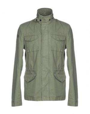 Куртка FRED MELLO. Цвет: зеленый-милитари