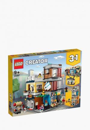 Конструктор LEGO Townhouse Pet Shop & Café. Цвет: разноцветный