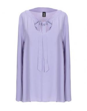 Блузка 1-ONE. Цвет: сиреневый