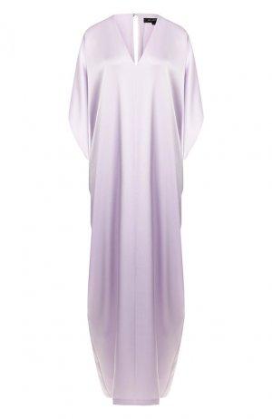 Платье-туника St. John. Цвет: фиолетовый