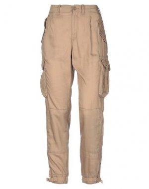 Повседневные брюки POLO JEANS COMPANY. Цвет: хаки