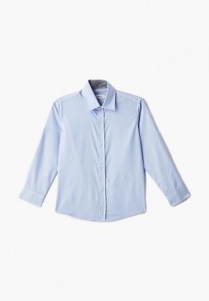 Рубашка MiLi. Цвет: голубой
