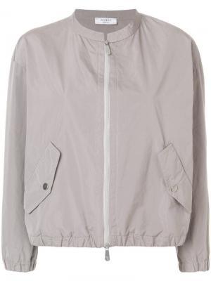 Куртка-бомбер на молнии Peserico. Цвет: нейтральные цвета