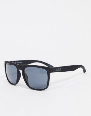 Черные квадратные солнцезащитные очки -Черный Jack & Jones