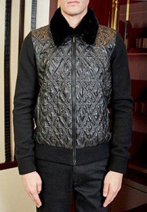 Куртка ZILLI. Цвет: черный
