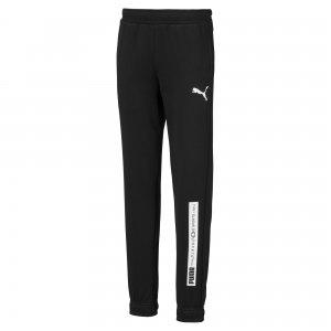Детские штаны Active Sports Sweat Pants PUMA. Цвет: черный