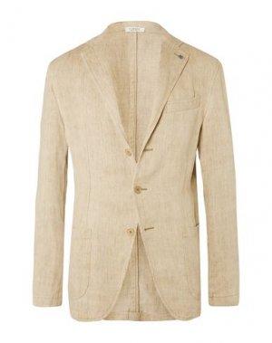 Пиджак EIDOS. Цвет: бежевый