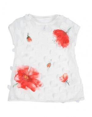 Блузка ELSY. Цвет: белый